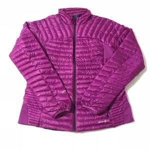 Eddie Bauer StormDown 800 Microtherm Jacket Large